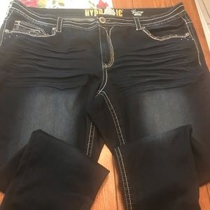 MAURICES's plus size 24 Hydraulic jeans.